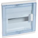 Щиток встраиваемый прозрачная дверь1х12+2, Nedbox