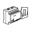 Реле отключения неприоритетных нагрузок однофазное 3 цепи нагрузки 15 А с отдельной катушкой