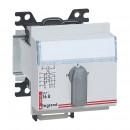 Переключатель для вольтметра - трехфазный - 7-позиционный - монтаж на рейке DIN