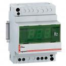 Цифровой измеритель частоты - диапазон измерения 40-80 Гц - монтаж на рейке DIN
