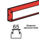 Кабель-канал DLP 35х80 2 м без крышки белый (цена за 1 метр)