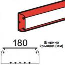 Кабель-канал DLP 65x195 -1, 2 или 3 секции длина 2 м белый (цена за 1 метр)