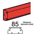 Кабель-канал DLP 35x105 1 секция 1 крышка 85 мм длина 2 м белый (цена за 1 метр)