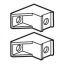 Суппорт для клеммников IP 2X (2) - для шкафов XL3 160