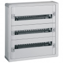 Шкаф с пластиковым корпусом 3х24, XL3 160