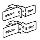 Комплект из 2 суппортов для монтажа лотка Lina 25 - XL3 800/4000 - 36 модулей