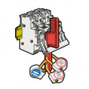 Защитная пластина - для запирания многополюсных устройств SP 51 и SP 58 (комплект 10 шт.)