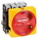 Выключатель-разъединитель - для скрытого монтажа - 4П - зажим нейтрали слева - 20 A