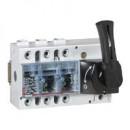 Выключатель-разъединитель Vistop - 100 A - 3П - рукоятка спереди - черная рукоятка