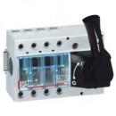 Выключатель-разъединитель Vistop - 100 A - 4П - рукоятка спереди - черная рукоятка
