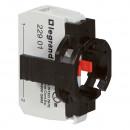 Комплектующий блок для кнопок - Osmoz - для комплектации - без подсветки - под винт - Н.З. + 1-постовой монт. адаптер
