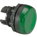Головка индикатора - Osmoz - для комплектации - с подсветкой - IP 66 - зеленый