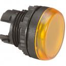 Головка индикатора - Osmoz - для комплектации - с подсветкой - IP 66 - желтый