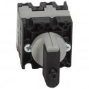 Выключатель - положение вкл/откл - PR 12 - 2П - 2 контакта - крепление на дверце
