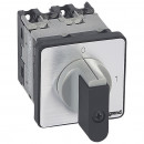 Выключатель - положение вкл/откл - PR 12 - 3П - 3 контакта - крепление на дверце