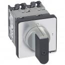 Выключатель - положение вкл/откл - PR 12 - 4П - 4 контакта - крепление на дверце
