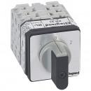Переключатель на 2 направления - с положением ''0'', 45° - PR 21 - 3П - 6 контактов - крепление на дверце