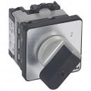 Переключатель на 2 направления - без положения ''0'' - PR 12 - 1П - 2 контакта - крепление на дверце