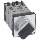 Переключатель на 2 направления - без положения ''0'' - PR 12 - 4П - 8 контактов - крепление на дверце