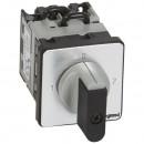Переключатель на 2 направления - с положением ''0'', 90° - PR 12 - 2П - 4 контакта - крепление на дверце