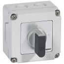 Переключатель - положение вкл/откл - PR 12 - 1П - 1 контакт - в коробке 76x76 мм