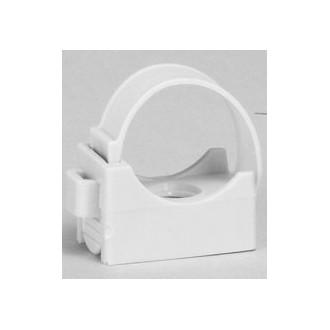 Фиксатор для труб IRL ∅ 20 - серый (комплект 100 шт.)