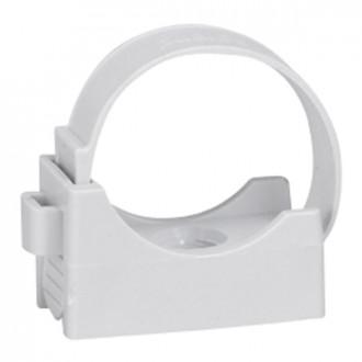 Фиксатор для труб IRL ∅ 25 - серый (комплект 100 шт.)