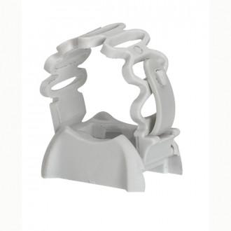 Фиксатор регулируемый для труб IRL от ∅ 20 до 25 - серый (комплект 100 шт.)