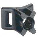 Аксессуар для хомутов - защита от УФ - ширина 9 мм - черный (комплект 100 шт.)