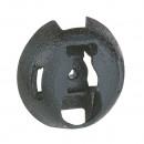 Основание для хомутов монтаж с помощью Spit - защита от УФ - черное