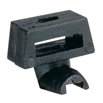 Стальное основание для крепления хомута на неперфорированной или перфорированной пластины Lina 25 (комплект 100 шт.)