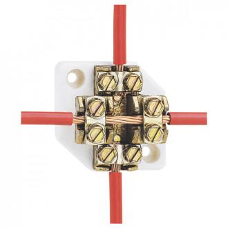 Клеммник-разветвитель - подключение без разрыва кабеля - для кабеля 25 мм² (комплект 5 шт.)