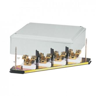 Клеммный блок - IP 30 - IK 07 - 4П - кабель сечением 25 мм² - бежевый RAL 7032