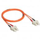 Оптоволоконный шнур OM 2 - многомодовый - SС/SС - длина 2 м