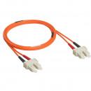Оптоволоконный шнур OM 2 - многомодовый - SС/SС - длина 3 м