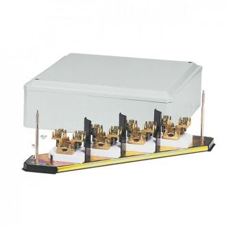 Клеммный блок - IP 30 - IK 07 - 5П - кабель сечением 240 мм² - бежевый RAL 7032