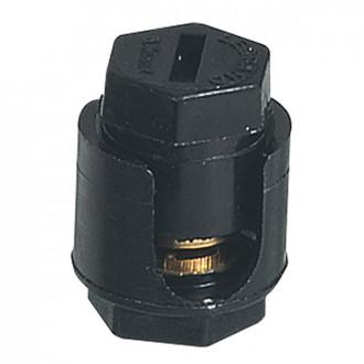 Соеденитель проходной - с шестигранной головкой - без лапок - 2x6 мм² (комплект 20 шт.)