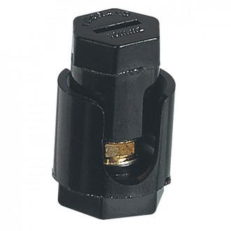 Соеденитель проходной - с шестигранной головкой - без лапок - 2x10 мм² (комплект 20 шт.)