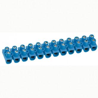 Клеммный блок Nylbloc - сечение 16 мм² - синий (комплект 10 шт.)