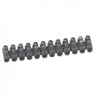 Клеммный блок Nylbloc - сечение 2,5 мм² - черный