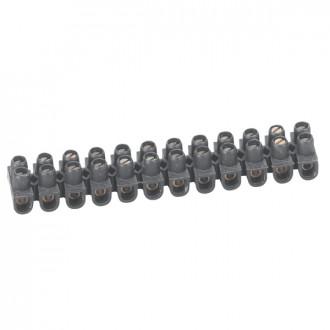 Клеммный блок Nylbloc - сечение 6 мм² - черный
