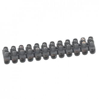 Клеммный блок Nylbloc - сечение 10 мм² - черный