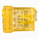 Пружинный клеммник Nylbloc auto для 3 клемм - 24A - 450 В~ - оранжевый (комплект 100 шт.)