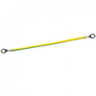 Желто-зеленый проводник - сечение 6 мм² (комплект 20 шт.)
