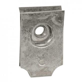 Клипса для винта M4 - для перфорированных пластин (комплект 100 шт.)