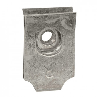 Клипса-гайка для винта M6 - для перфорированных пластин (комплект 100 шт.)