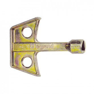 Ключи для металлических вставок замков - с треугольным выступом 8 мм (комплект 10 шт.)