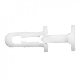 Заклепка пластиковая усиленная диам. 6 мм - для отверстий диам. 6,5 мм (комплект 500 шт.)
