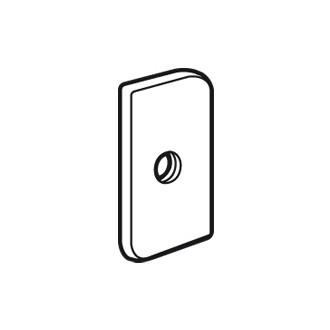 Специальная гайка для профильных реек C - с винтом CBL 6 x 10 (комплект 20 шт.)