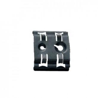 Внешний фиксатор для реек EN 60715 - ширина 35 мм - отверстия под винты M4 и M6 (комплект 100 шт.)